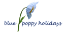 blue poppy logo